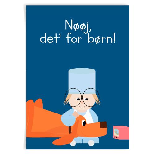 Image of   Citatplakat.dk - Nøøj, det for børn