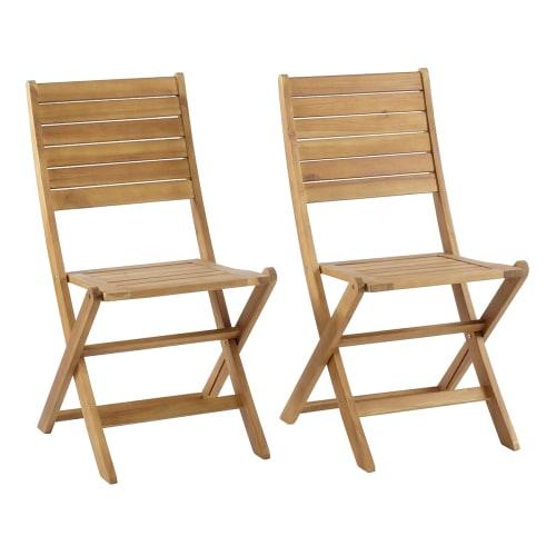 Billede af Coop klapstole - Liva - 2 stk. - Natur