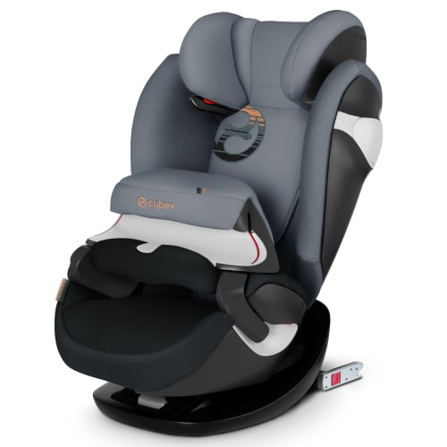 Image of   Cybex autostol - Pallas M-Fix - 9-36 kg - Sort/grå
