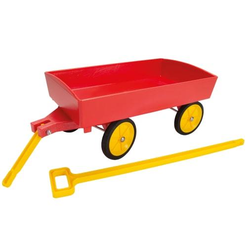 Dantoy trækvogn - Rød