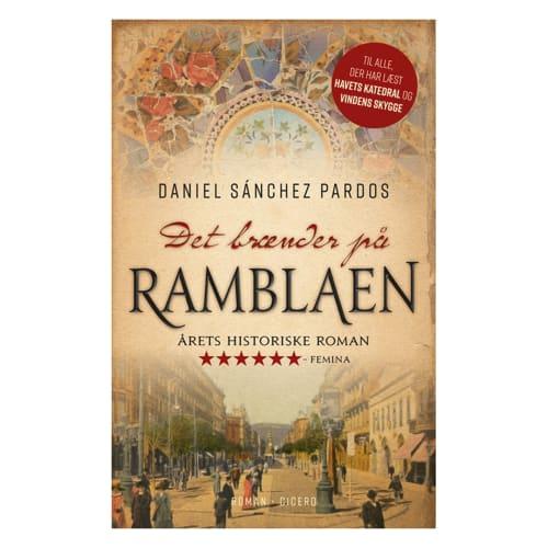 Image of   Det brænder på Ramblaen - Paperback