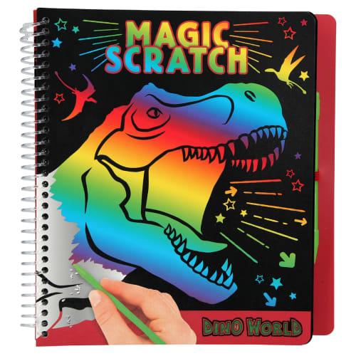 Image of   Dino World aktivitetsbog - Magic Scratch