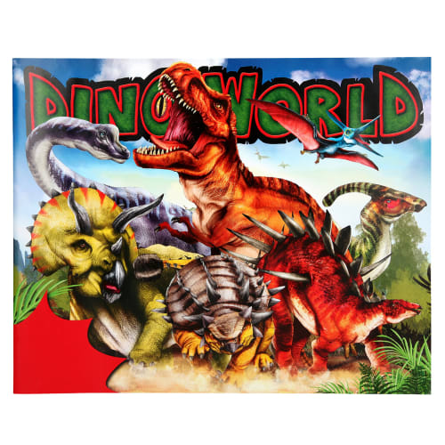Image of   Dino World malebog