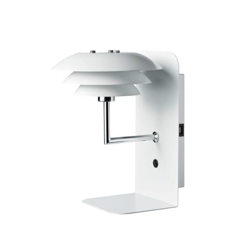 Image of   DybergLarsen natlampe med hylde - DL20 USB - Mathvid