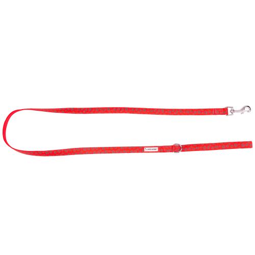 Dyreværnet hundesnor - Bomuld - Rød
