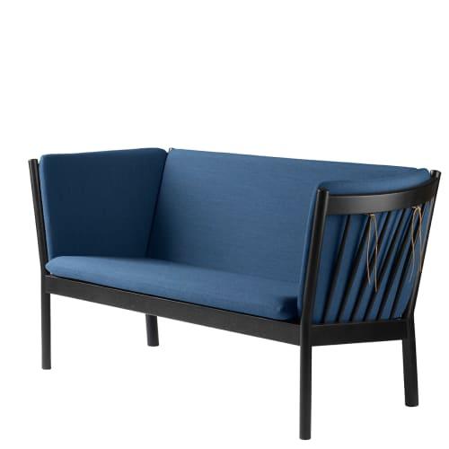 Erik Ole Jørgensen 2 pers. sofa - J148 - Sort/blå