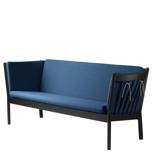 Erik Ole Jørgensen 3 pers. sofa - J149 - Sort/blå