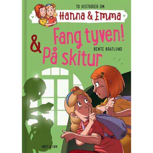 Fang tyven & På skitur - Hanna & Emma 5 - Indbundet