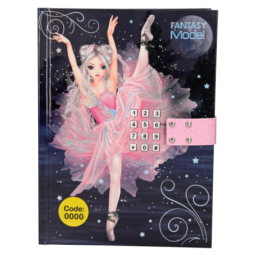 Image of   Fantasy Model dagbog - Balletdanser