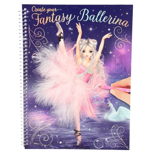 Image of   Fantasy Model designbog - Create your Fantasy Ballerina