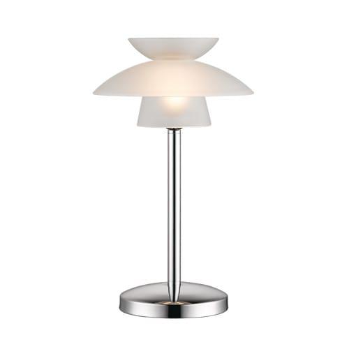 Halo Design bordlampe - Midi Safir - Hvid/krom