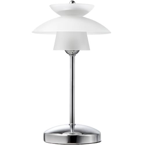 Halo Design bordlampe - Safir - Hvid/metal