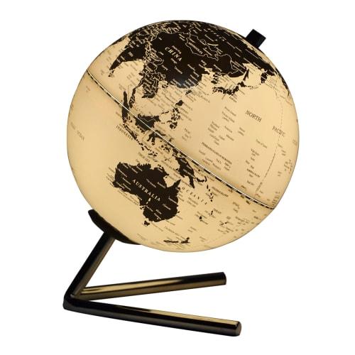Halo Design bordlampe - The World Globe - Sort/hvid