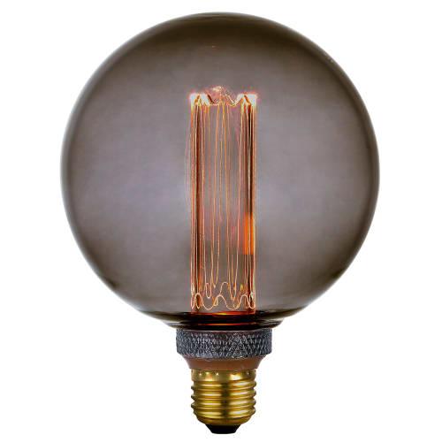 Image of   Halo Design LED-pære - Colors Dim LED Globe - Smoke