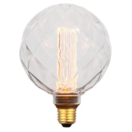 Image of   Halo Design LED-pære - Dim LED Facet Globe