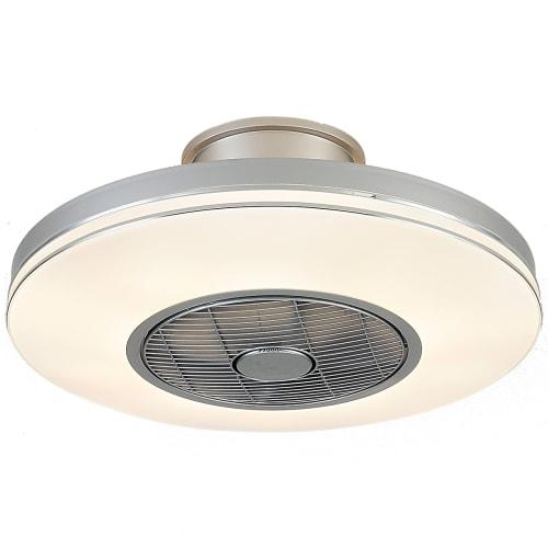 Image of   Halo Design ventilator plafond med lys