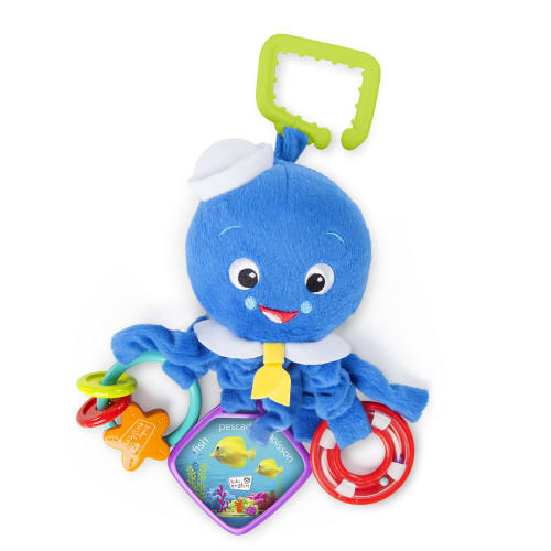 Image of   Hape aktivitetslegetøj - Activity Arms Octopus - Baby Einstein