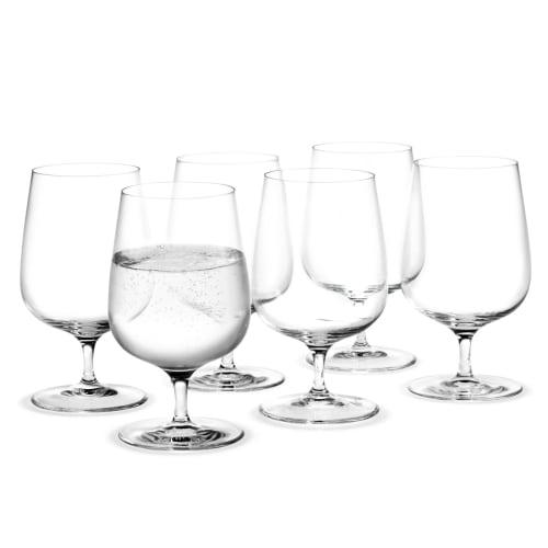 Image of   Holmegaard vandglas - Bouquet - 6 stk.