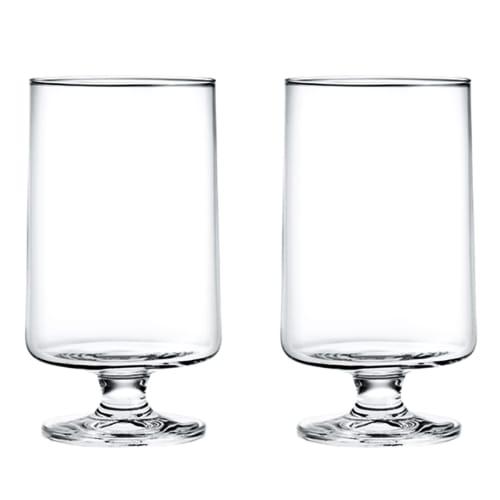 Image of   Holmegaard vandglas - Stub - 2 stk.