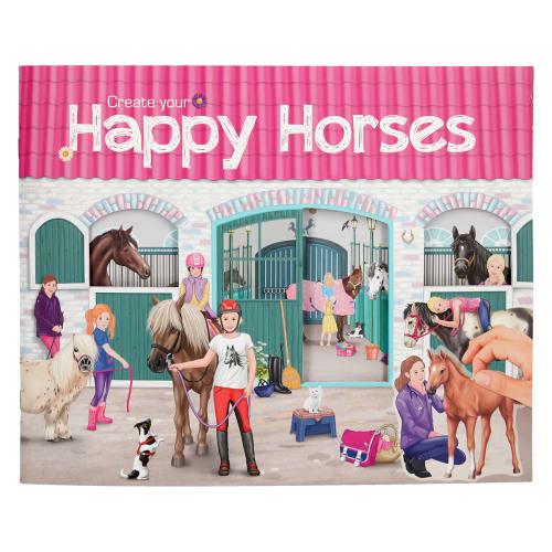 Image of   Horses Dreams aktivitetsbog - Create your Happy Horses