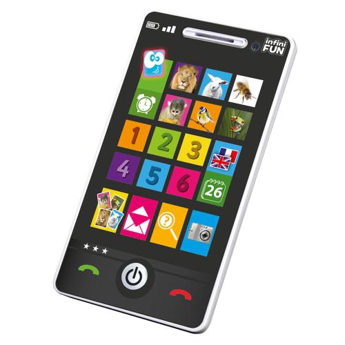 Image of   Infinifun legetøjstelefon - Min første smartphone