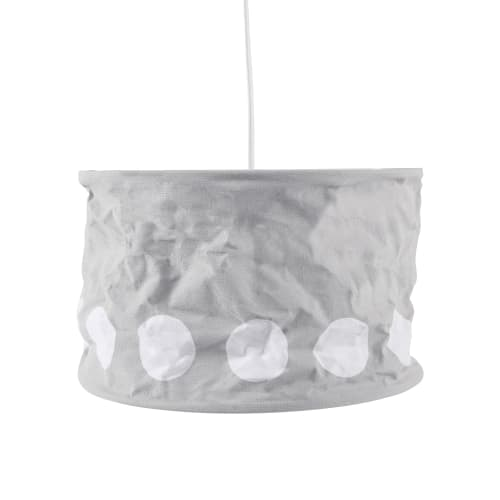 Kids Concept loftlampe - Grå/hvid