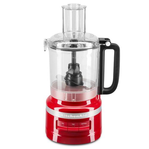 Kitchenaid Foodprocessor - 9 Cup - Rød