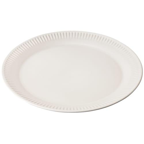 Image of   Knabstrup Keramik frokosttallerken - Hvid