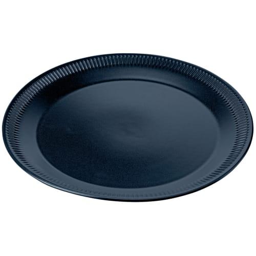 Image of   Knabstrup Keramik middagstallerken - Blå