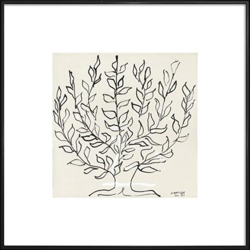 Image of   Le Platane plakat i ramme - af Henri Matisse