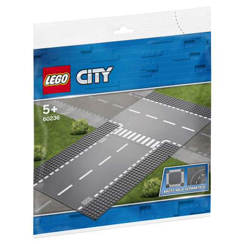 LEGO City Lige vejbane og T-kryds