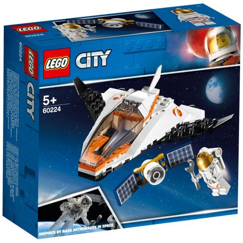 LEGO City Space Port Satellitservicemission