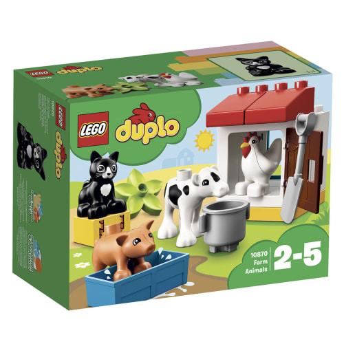 LEGO DUPLO Dyr på gården