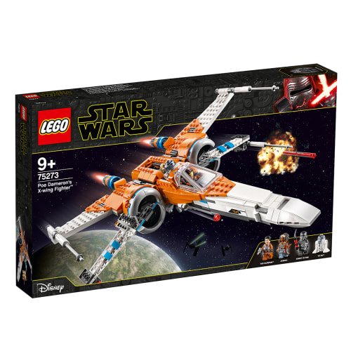 Image of   LEGO Star Wars Episode IX Poe Damerons X-wing-jager