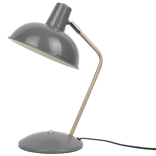 Image of   Leitmotiv bordlampe - Hood - Grå