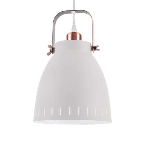 Leitmotiv pendel - Mingle LM1432 - Hvid/kobber