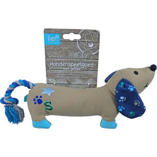 Lief hundelegetøj - Gravhund - Boy