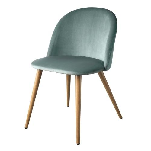 Image of   Living&more spisebordsstol - Laura - Lysegrøn
