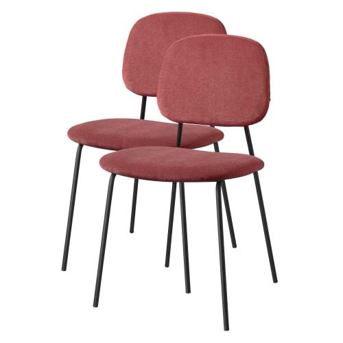 Living&more spisebordsstole - Retro - 2 stk. - Sorbet peach