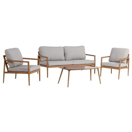 Loungesæt - Lilja - Natur/beige