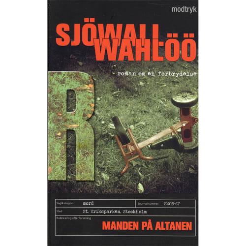 Manden på altanen - Roman om en forbrydelse 3 - Paperback