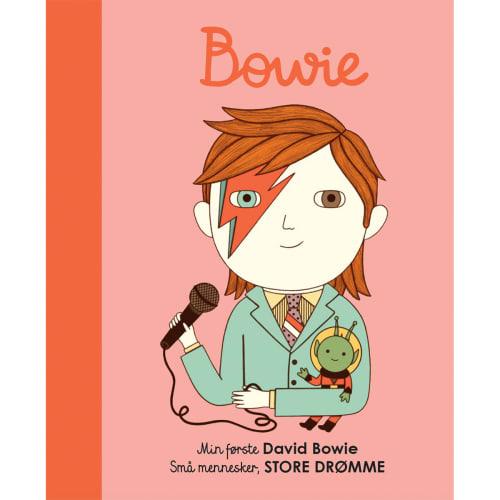 Min første David Bowie - Papbog