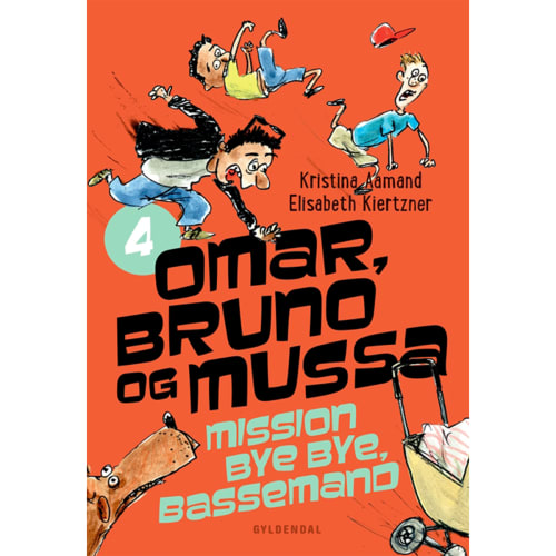 Mission bye bye, Bassemand - Omar, Bruno og Mussa 4 - Indbundet