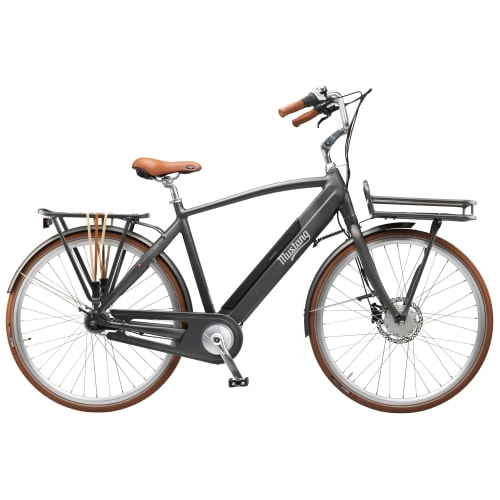 Image of   Mustang August Electric elcykel med 7 gear - Charcoal Grey