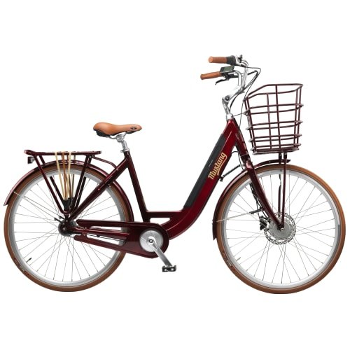 Image of   Mustang Augusta Electric elcykel med 7 gear - Mulberry Shine