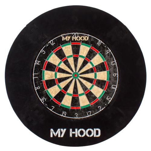 My Hood Dartskive Med Beskyttelsesring - Tournament Set