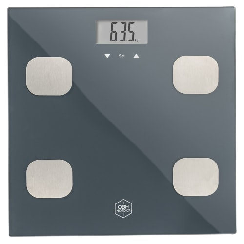 Image of   OBH Nordica badevægt - Fitness Tracker BMI Scale