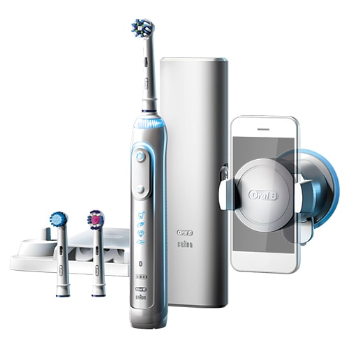 Image of   Oral-B eltandbørste - Genius 8000 - White