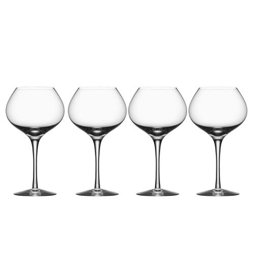 Image of   Orrefors rødvinsglas - More Mature - 4 stk.