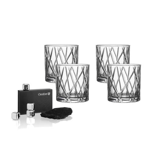Image of   Orrefors whiskeyglas - City Double Old Fashion - 4 stk.